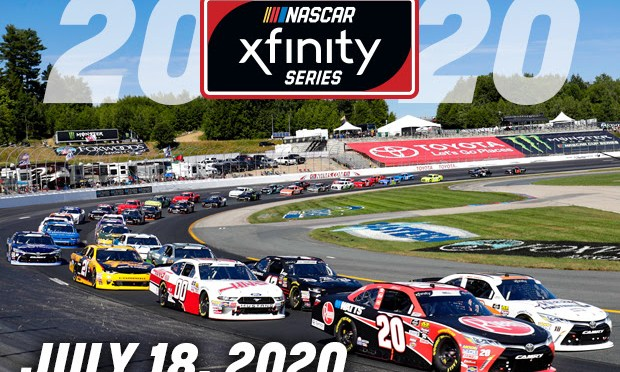 2020 NASCAR Xfinity Series Race Set for Saturday, July 18 at Loudon