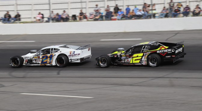 NASCAR MODIFIED TOUR AT WALL STADIUM ON SATURDAY (MAY 18)