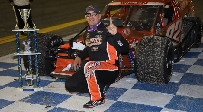 PITKAT SRVIVES TO SCORE WALL MODIFIED TOUR WIN