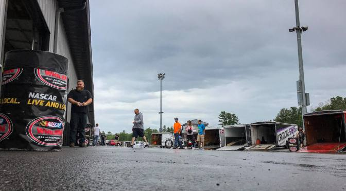 Rain Forces Rescheduling of Thompson NWAAS Racing