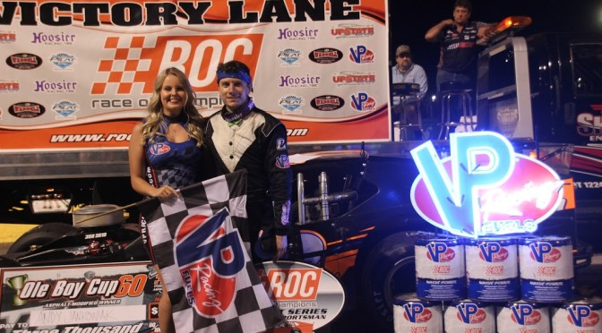 Andy Jankowiak wins Ol' Boy Cup V at Lancaster Speedway @ NYIRP