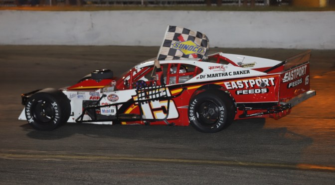 KYLE SOPER RETURNS TO RIVERHEAD RACEWAY NASCAR MODIFIED VICTORY LANE FOR SEVENTH WIN OF 2019 SATURDAY NIGHT