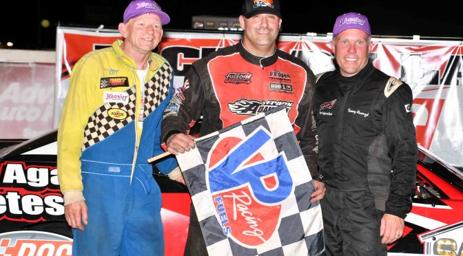 "MANCUSO, HOFFMAN & HOLMES WIN ON ""TOMMY/TONY"" NIGHT AT LANCASTER"
