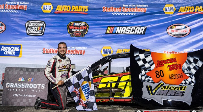 Chase Dowling Scores Valenti Modified Racing Series Victory in Lincoln Tech VMRS 80 At Stafford Speedway