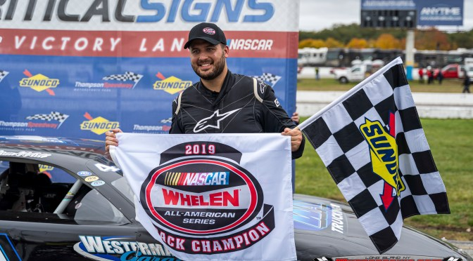 William Wall Captures Second Late Model Title To Kick Off 57th Sunoco World Series of Speedway Racing