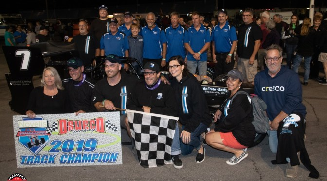 Consistency Leads Otto Sitterly to Ninth Supermodified Title Becoming Oswego Speedway's Grand Champion
