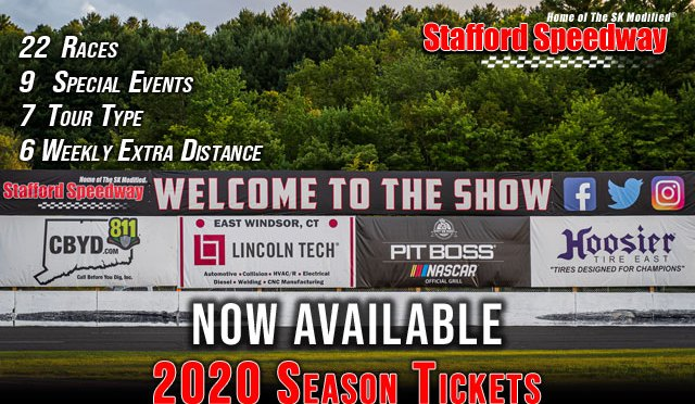 Stafford Speedway 2020 Season Passes Now Available; Schedule to be Released November 13th