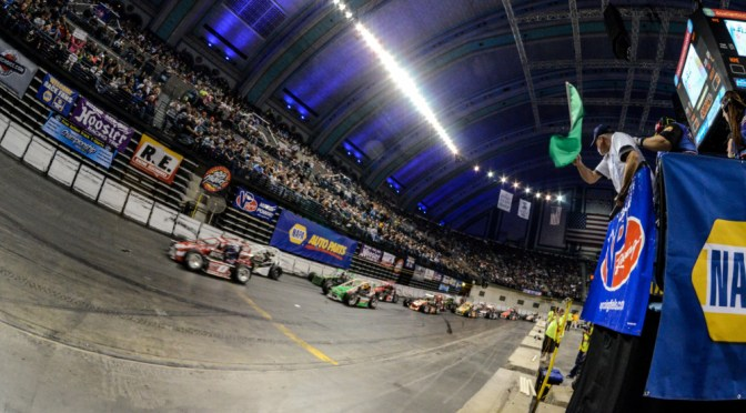 DOUBLE PAY FOR INDOOR RACING EVENTS WINNER IF THERE IS A SELL OUT
