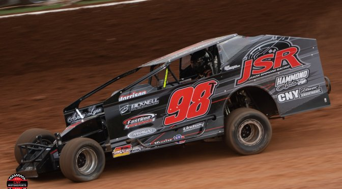 Tyler Thompson Impresses in World Finals Debut with Super DIRTcar Series