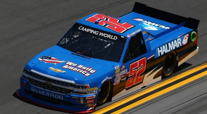 STEWART FRIESEN, HALMAR FRIESEN RACING ANNOUNCE 2020 NASCAR PLANS
