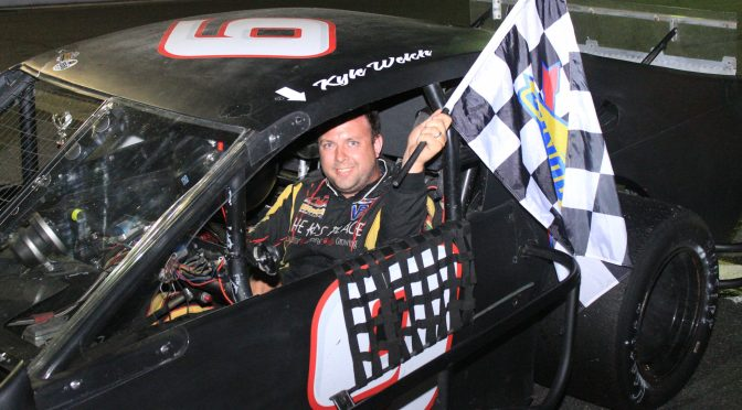 WELCH TOPS MODS, GREENSLIT, SABINS STAY HOT JUNE 26 AT CLAREMONT