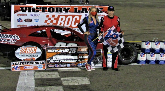 "MATT HIRSCHMAN CONTINUES HIS DOMINANCE OF LAKE ERIE SPEEDWAY WITH ""BASH BY THE LAKE"" WIN"