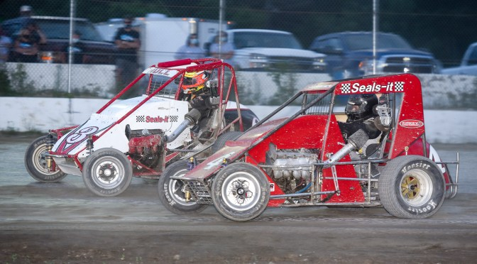 Will Hull wins at Bear Ridge Speedway from last place
