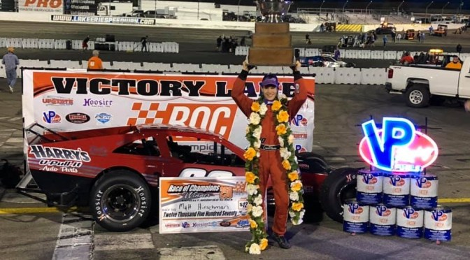 Hirschman wins Lake Erie Speedway Modified Tilt!