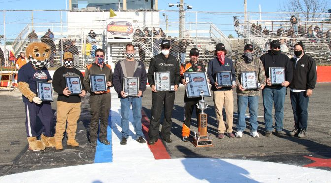 2020 RIVERHEAD RACEWAY CHAMPIONS HONORED PRIOR TO ISLIP 300, TOM ROGERS JR. FETED FOR FIFTH NASCAR MODIFIED TITLE
