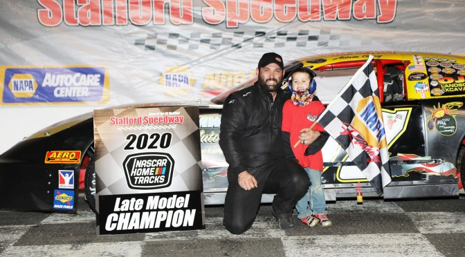 Adam Gray Wins 3rd Career Late Model Championship at Stafford