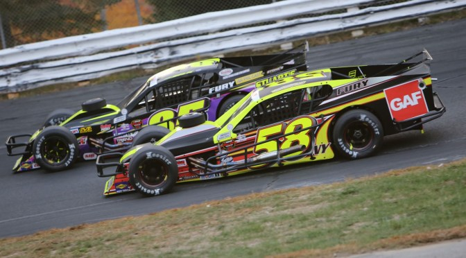 Eric Goodale Leads Whelen Mod Tour to Stafford for NAPA Spring Sizzler