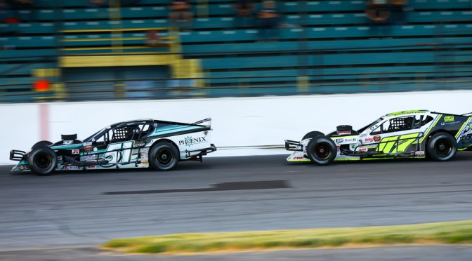JUSTIN BONSIGNORE FINISHES FOURTH AT OSWEGO SPEEDWAY
