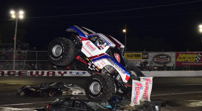 MONSTER TRUCKS RETURN TO RIVERHEAD RACEWAY SATURDAY JULY 31ST JOINING EXCITING NASCAR STOCK CAR PROGRAM