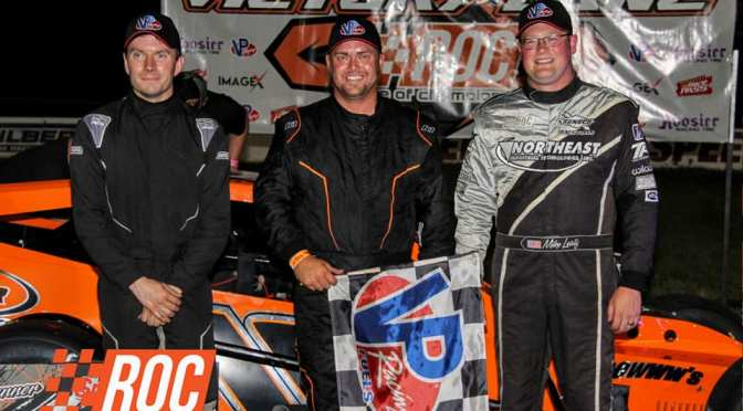 DARYL LEWIS, JR., ANDY LEWIS, JR. AND TOM BARRON SHARE SPOTLIGHT ON 66TH OPENING NIGHT AT SPENCER SPEEDWAY