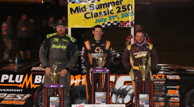Corliss Nips Shaw with Hood Up to Cap Unforgettable Midsummer Classic 250