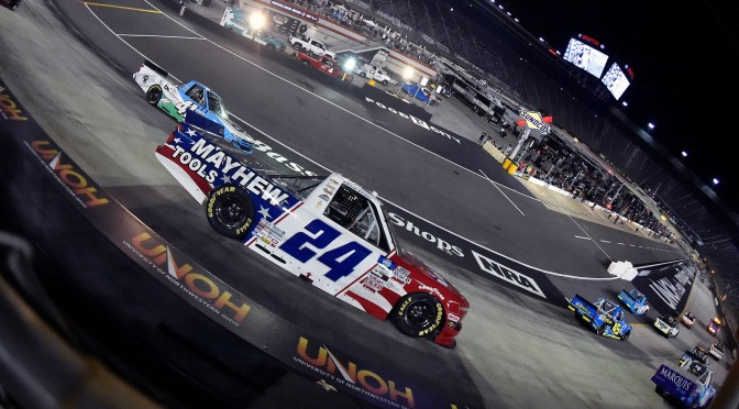 DOUG COBY 12TH IN TRUCK SERIES AT BRISTOL; LOOKING FOR MODIFIED SWEEP AT RIVERHEAD