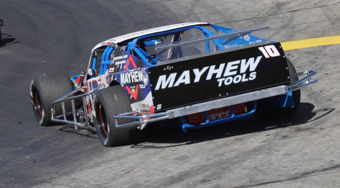 DOUG COBY FINISHES SIXTH IN RETURN OF THOMPSON 300