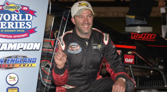 Rocco Plays His Cards Right for Thompson 300 Win