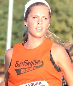 Burlington senior Ashlyn Barry was named first team all-conference in girls cross country. (Mike Ramczyk/SLN)