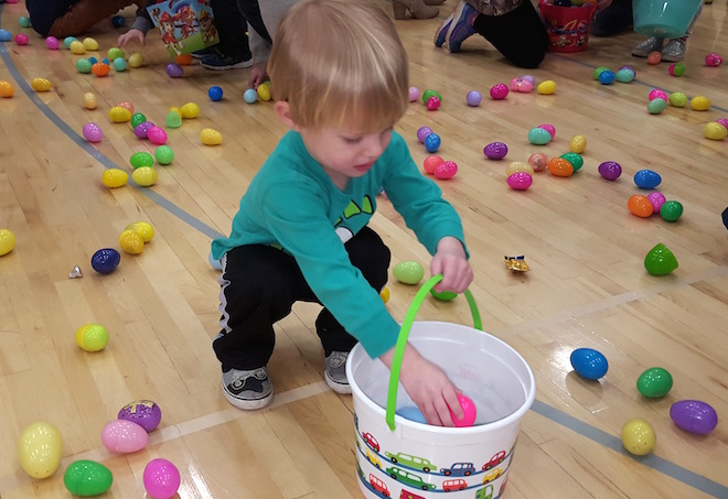 The Morgantown Church of Christ hosts sixth annual Easter Egg Hunt