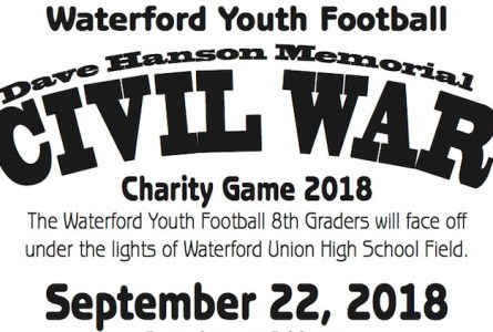 Youth football teams to face off for charity