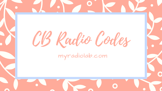 cb radio code list