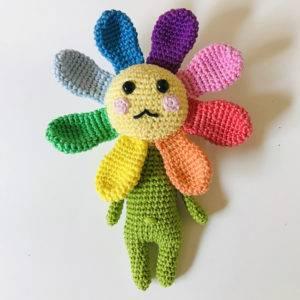 Valérie amigurumi fleur