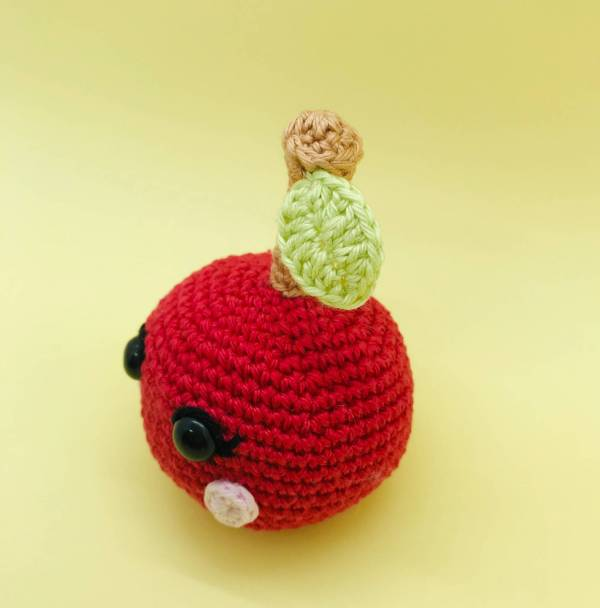 patron crochet amigurumi cerise kawaii