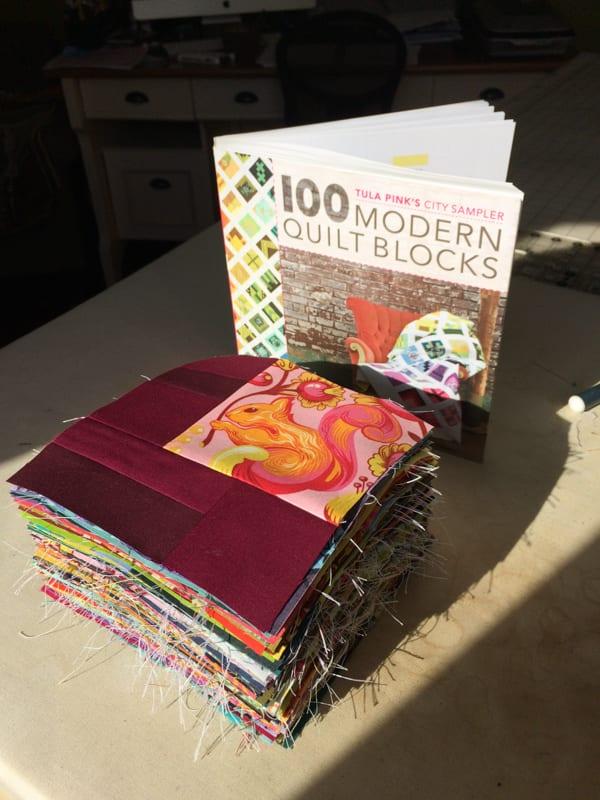 City Sampler: 100 Modern Quilt Blocks Stack