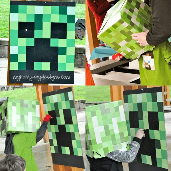 Minecraft Birthday Party Games