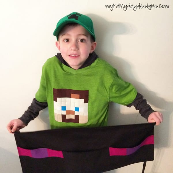 Minecraft Enderman Craft Apron