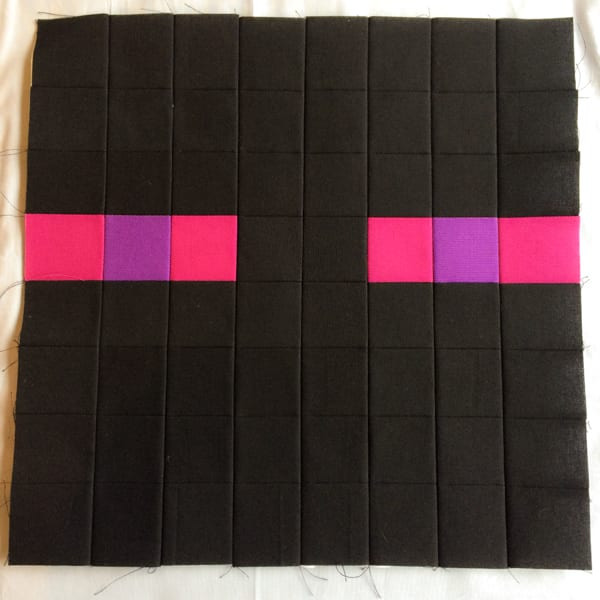 Minecraft Quilt Block Enderman