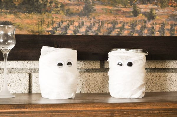 Mummy Votive Jars