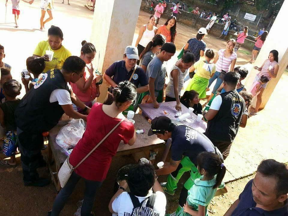 Community Service and Gift Giving at Barangay Yapak during Boracay's Closure