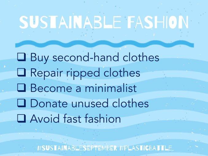Sustainable September Fashion Tips