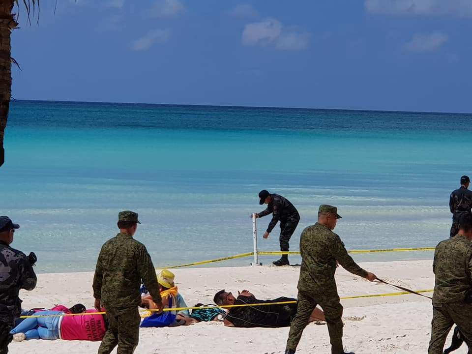 Capability Demonstration on White Beach. Photo Credit Claire Ang