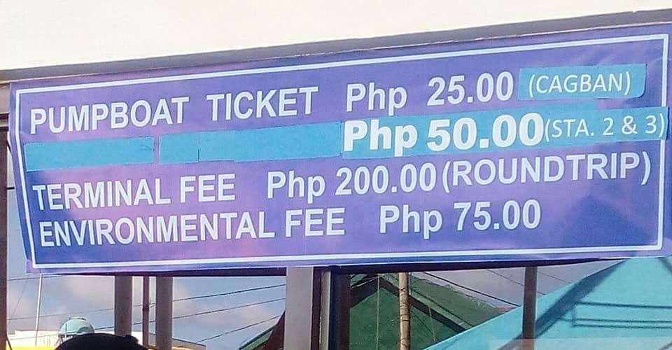 Boracay Pump Boat Fee Increased 2018