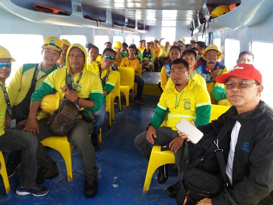 10 Electric Companies help rehabilitate Boracay