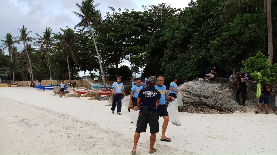 Boracay Civic Action Activity during closure