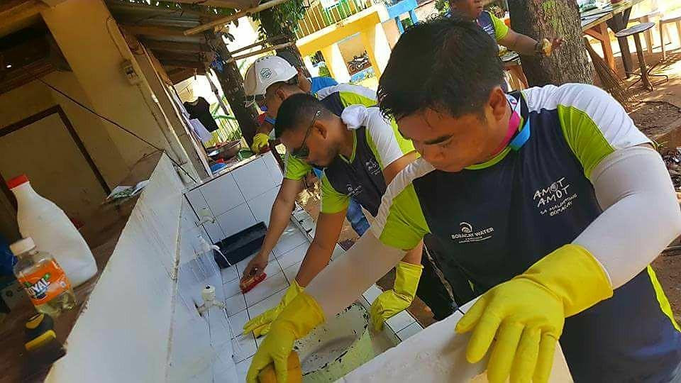 Inside Boracay: Week 5 Boracay Island Water at Lamberto H. Tirol National High School and Yapak Elementary School. Photo Courtesy of Ervin Jade Laurete Villa