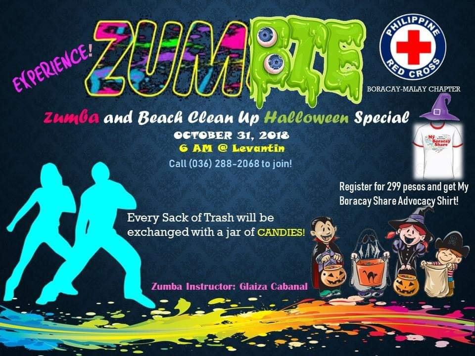 Boracay Zumbie Event Oct 2018
