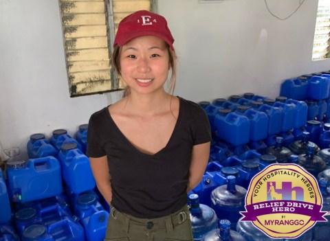 Colene Tan Relief Drive Hero