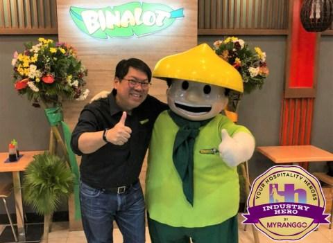Rommel T Juan MY RANGGO Hospitality Industry Hero