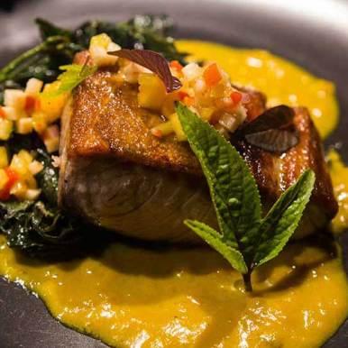 Alec Santos, New York Italian Cuisine served at Wild Restaurants Kitchen Takeover Night